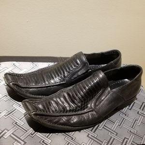 Steve Madden Snakeskin Leather Shoes (Size 8.5)